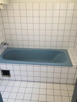 Fliesen- und Badewannenbeschichtung samt Natursteinteppichverlegung