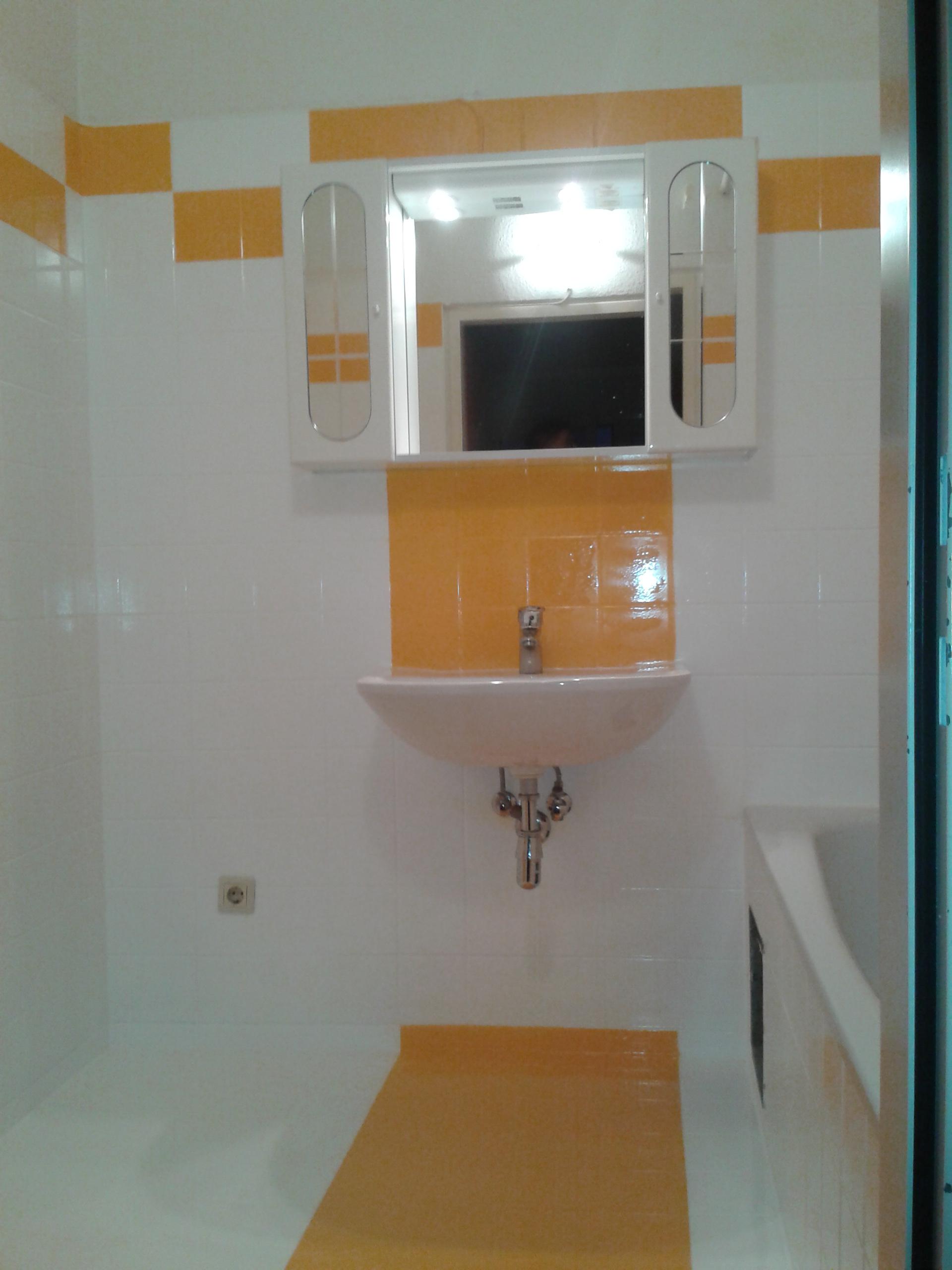 Badezimmer nachher